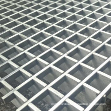 Galvanized Grille Carbon/Stainless Steel Machine Welded Press Locked Bar Grating Customized