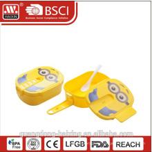 BPA-freie Kunststoff Kinder Brotdose mit Griff