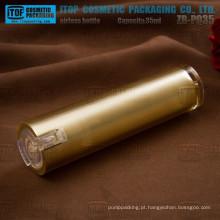 ZB-PQ35 35ml loção clara especial bomba boa qualidade ligeira do atarraxamento acrílico sem ar frasco redondo