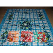 Old Fashion Cheap Price T/C 50/50 Flower Printed Bed Sheet