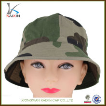 custom plain blank camo fishing bucket hat
