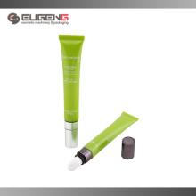 Plástico macio tubo cosméticos lipgloss embalagem