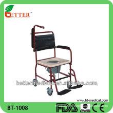 Стальной пациент Комод стул с колесами