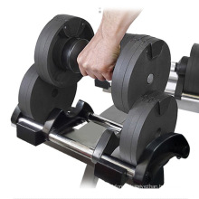 Wholesale Gym Equipment Dumbbell Adjustable Hex Dumbbell Set