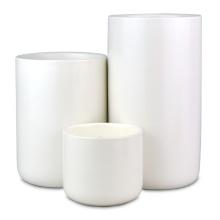 Coffret cadeau de bougies en pot en céramique parfumées blanches nordiques
