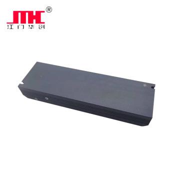Potencia de la luz de tira de LED interior de carcasa de aluminio IP20