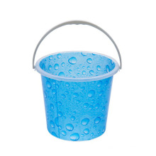 Hot Selling Cheap Price 15L Plastic Printing Laundry Round Bucket With Handle