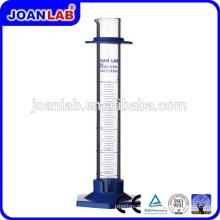 JOAN LAB Cilindro Graduado de Vidro de Alta Qualidade com Fornecedor de Base Plástica