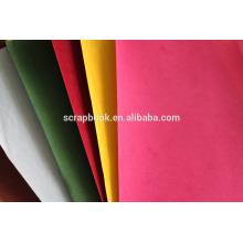 Beflockung Kunstdruckpapier für Scrapbooking verwenden