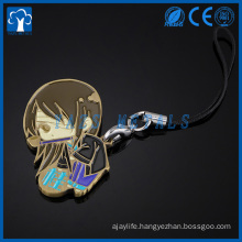Custom metal anime characters souvenir keychains