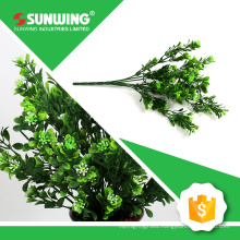 china supplier cheap small faux artificial leaves for interior decoration