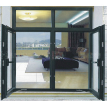 Foshan Woodwin Double Tempered Glass Aluminium Window