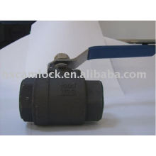 2PC CARBON STEEL BALL VALVE