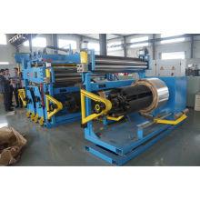 Máquina de enrolamento de folha de baixa tensão para fabricação de transformadores
