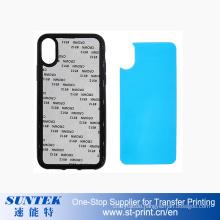 2D TPU+PC Subilmation Heat Press Phone Cases Iphonex/iPhone8/7