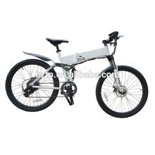 TOP E-cycle 26 pouces pliant caché batterie vélo de montagne électrique