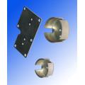 Estampage en métal rond personnalisé avec cuivre (HS-SM-0033)