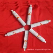 Tube d'emballage d'aluminium pour peintures