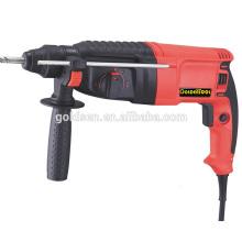800w poder martelo perfurador broca portátil elétrica rotatória martelo broca 26 milímetros