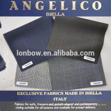 tecido de terno italiano de luxo