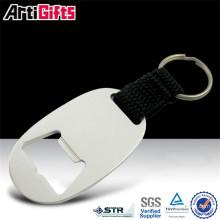 Abrebotellas de aluminio con forma de pato valioso del metal de la buena calidad