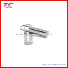 Pull spécial à fermeture éclair en métal pour sac