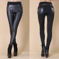 Usine de pantalons en cuir féminin