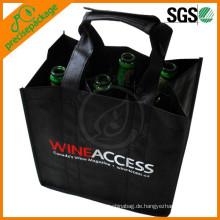 Werbeartikel Non Woven 6 Weinflaschenbeutel für Champagner