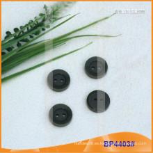 Botón de poliéster / botón de plástico / botón de camisa de resina para el escudo BP4403