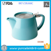 Wholesale Ceramic Teapot with Strainless Steel Infuser