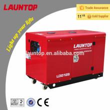 10.0kw бесшумный дизель-генератор с двигателем Lombardini мощностью 20 л.с. (Launchop)