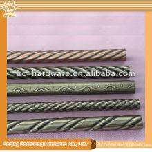 30x15mm, 30x25mm Chrom ovalen Rohr, Eisen Chrom Rohr