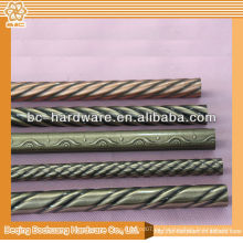 30x15mm, 30x25mm cromo tubo oval, tubo de hierro cromo