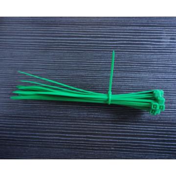 Зеленая кабельная стяжка