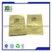 Three Sides Sealed Plastic Foil Bag for Face Mask