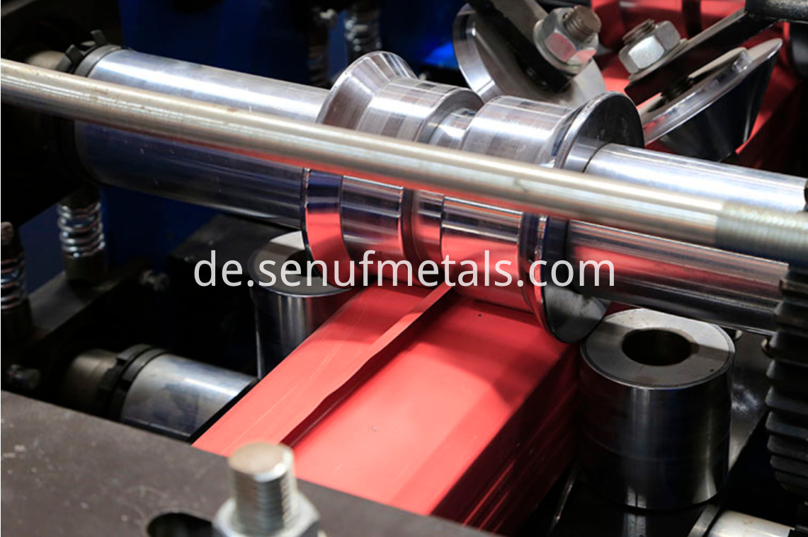 Downspout pipe forming machine roller 2