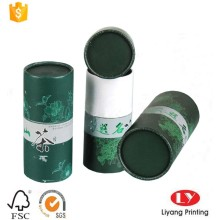 Custom paper tube tea packaging gift box