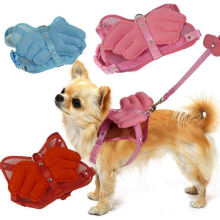 OEM Pet Clothes with Angel Wings and Leash for Dog