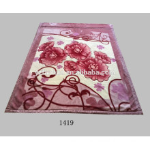 Factory Supply Cheap 2ply Printed Raschel Mink Blankets