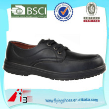man leather safety shoe Oxford Steel Toe
