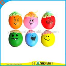 Juguetes de la bola de la cara de la tensión del estrés de la alta calidad de la alta calidad