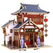 Holz Collectibles Spielzeug für Global Houses-China Tea House