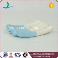 YSb50044-01-sd Bamboo design stoneware soap dish products