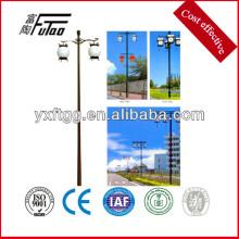 Postes de iluminación de calle de acero