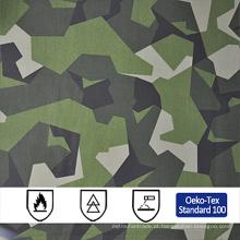 camuflagem militar do deserto do poliéster do algodão anti venda por atacado da tela do fogo