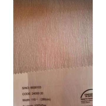 Jacquard Pink Color Curtain Sheers