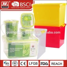 Conteneur de stockage hermétique en plastique alimentaire de 450ML avec bague d'étanchéité