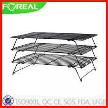 3-Tiers Nifty Home Metal Wire Whitford Non-Stick Cooling Grid