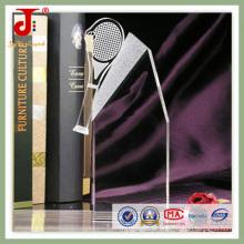 Troféu de cristal feito sob encomenda barato em Dubai (JD-CT-400)
