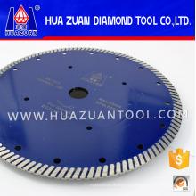 Turbo Diamond Cutting Blade for Stone Concrete (Hz306)
